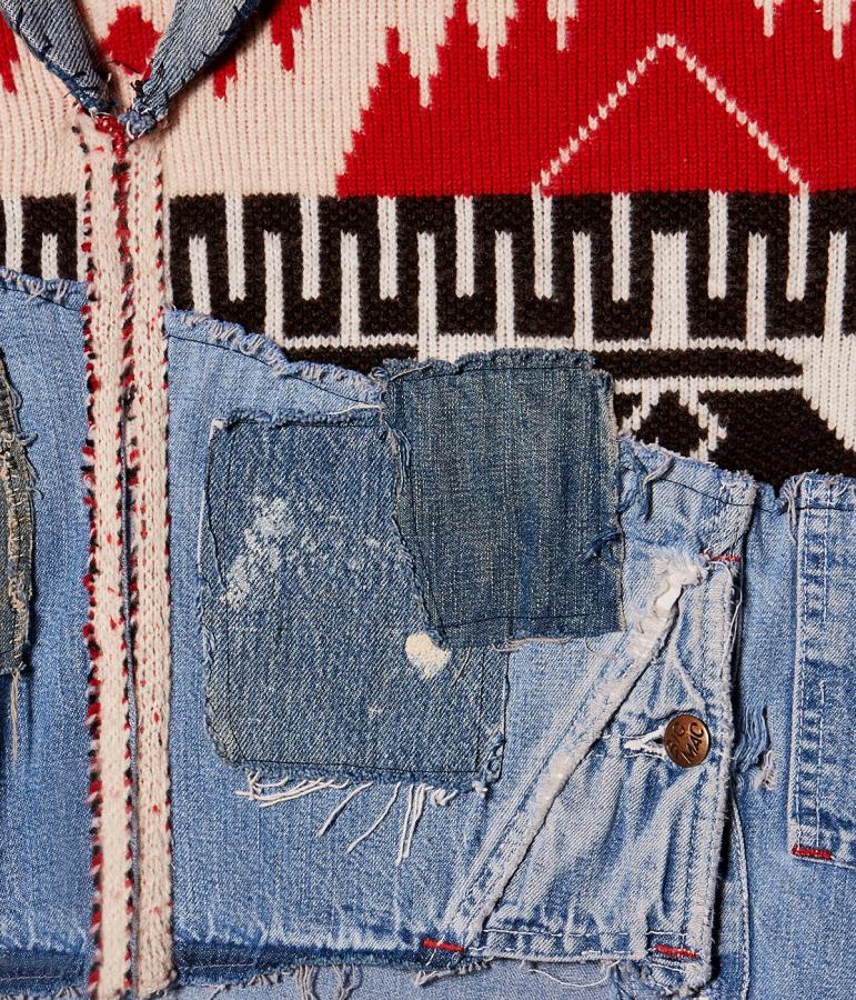 Alanui Greg Lauren design close up