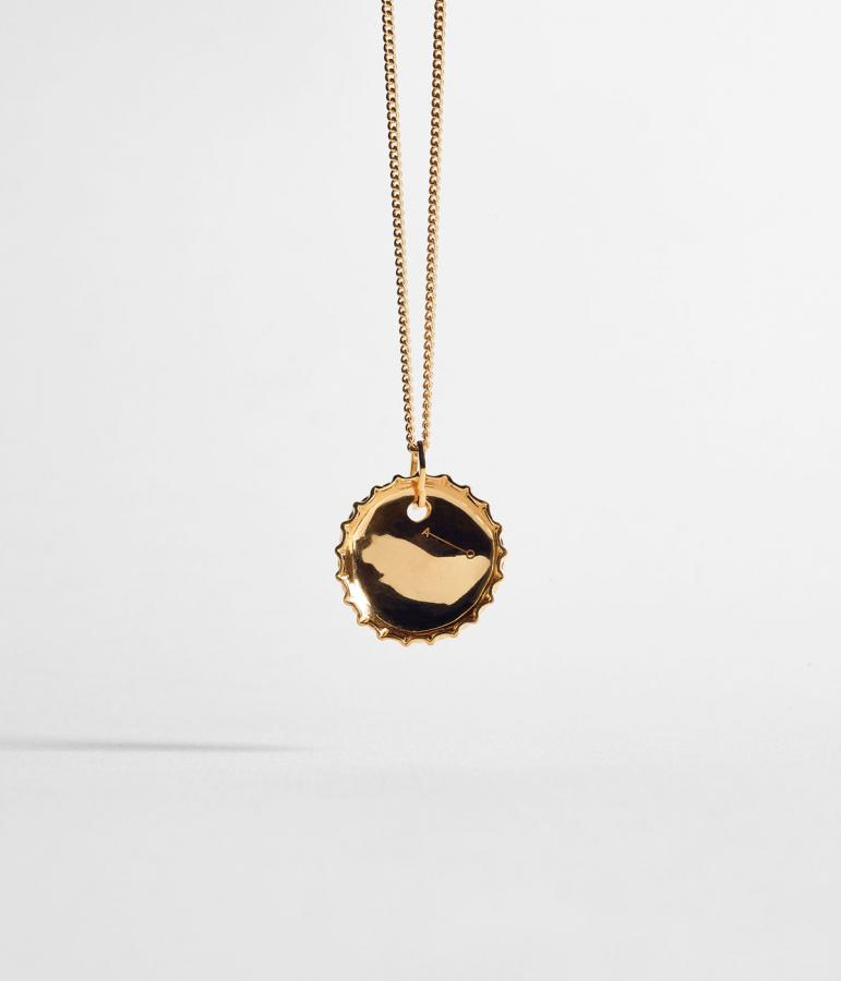 Alex Orso gold pendant