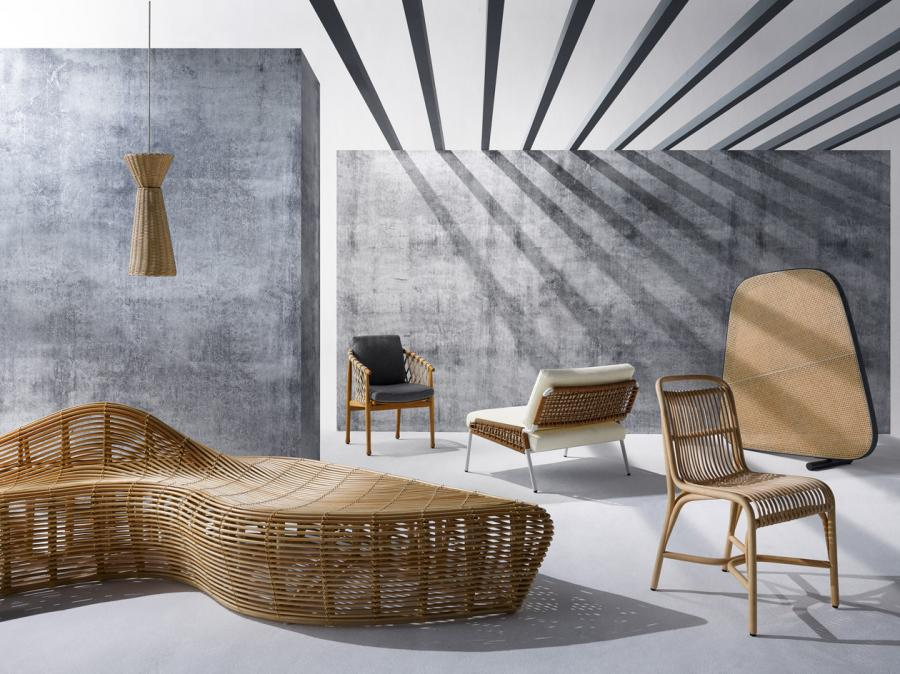 Best Weaves. Wicker Is Slicker For The Ins And Outs Of Modern Furnishings