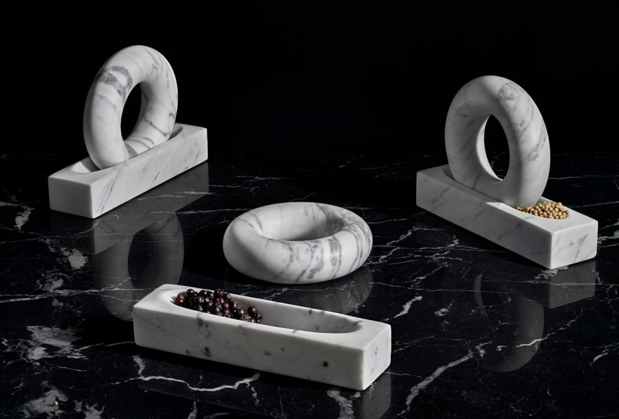 Tondo pestle and mortar for Design House Stockholm by Contour Studio