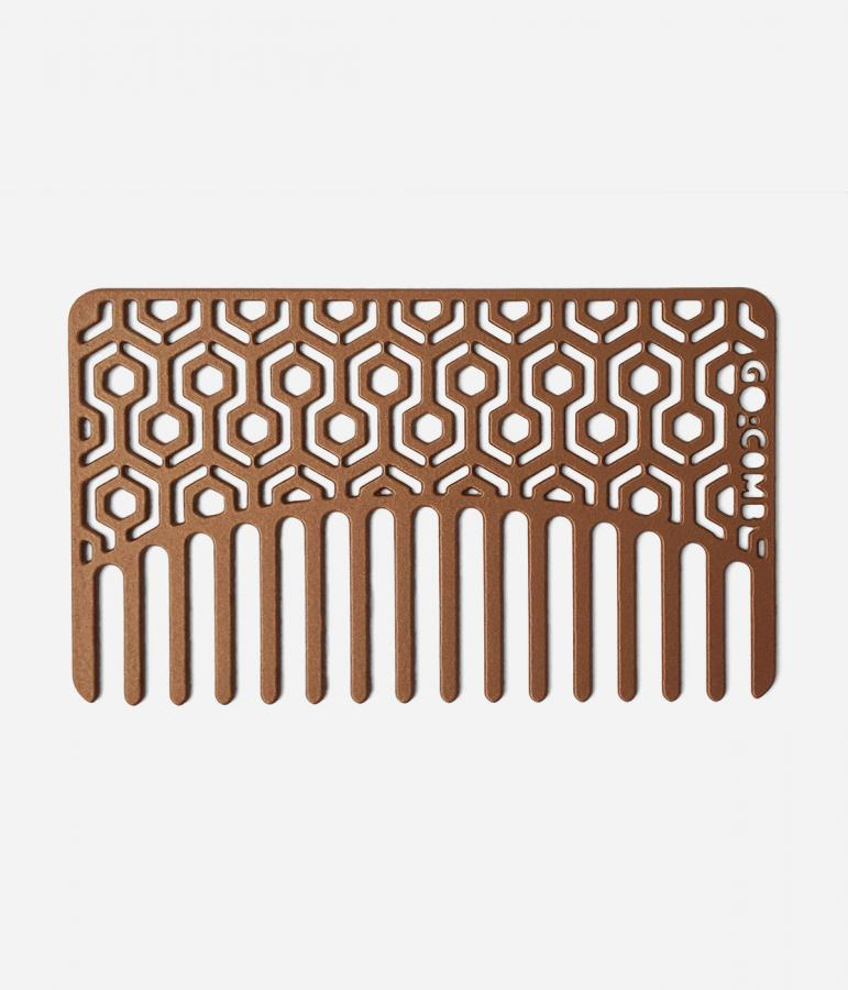 Copper Hexagon Go-Comb