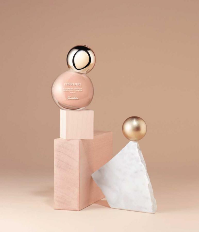 L'Essentiel foundation bottle, for Guerlain
