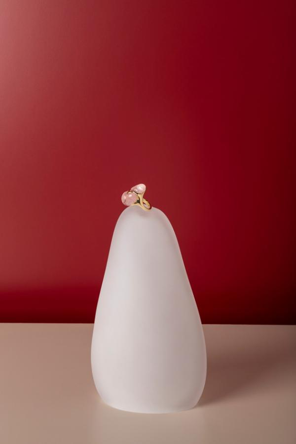 'Molten Love' ring by Amy Lau Design and John Pomp