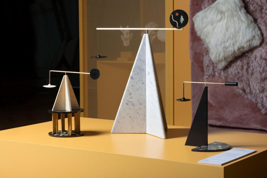 'Essenziale' scent diffusers by Ilaria Bianchi, Ostens and Il Marmo