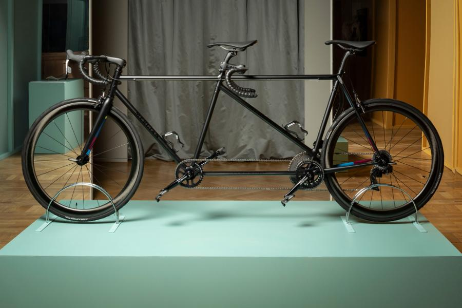 Tandem bike by Paul Smith and Mercian
