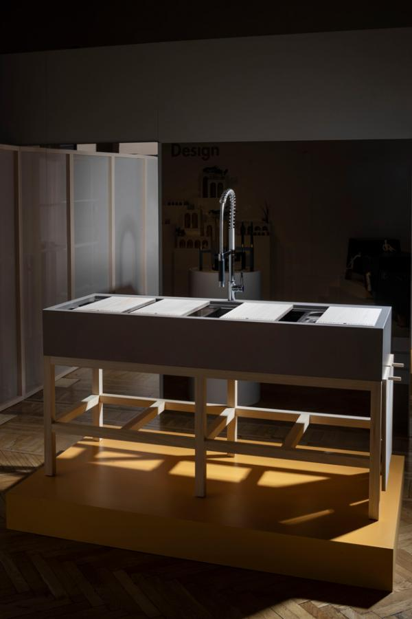 Kitchen sink system by OTOMOTO with Cosentino and Matheson Whiteley