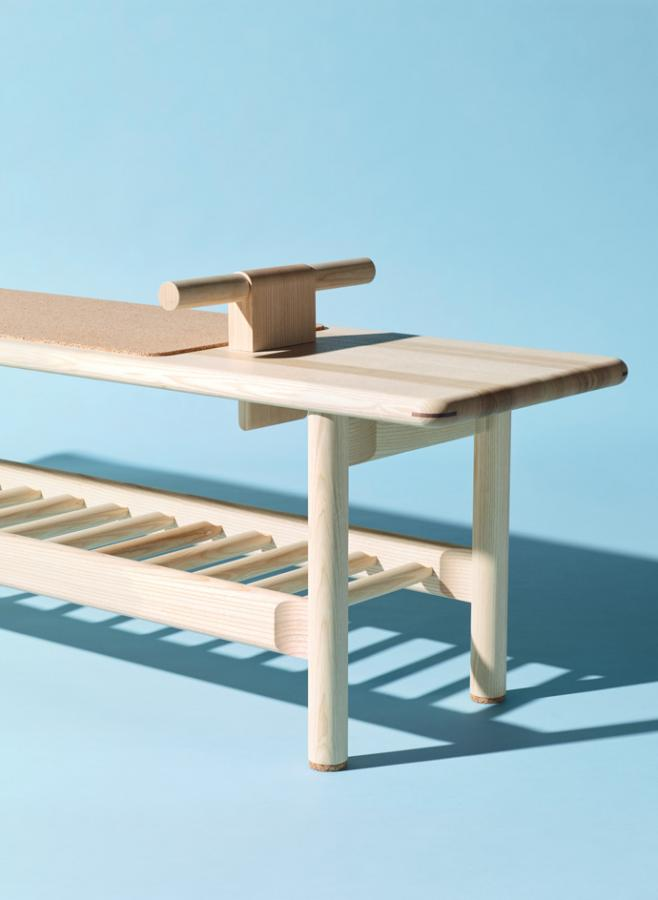 'StayFit' bench by Kunsik Choi and Nikari