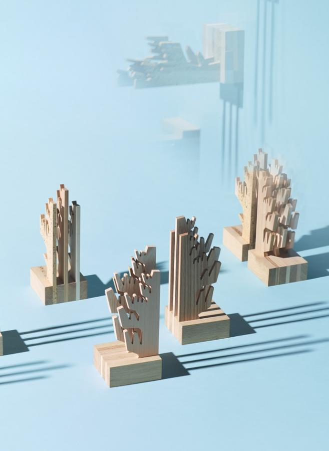 Bookends by Theseus Chan and Riva 1920