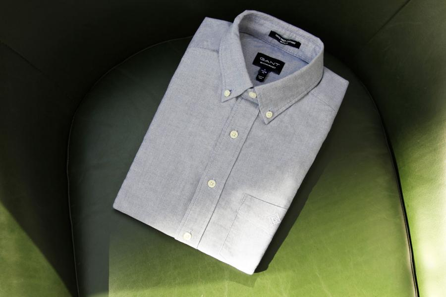 Gant Beacons folded men's shirty