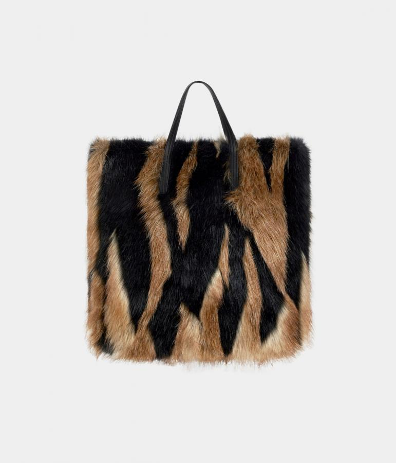 Givenchy faux fur bag
