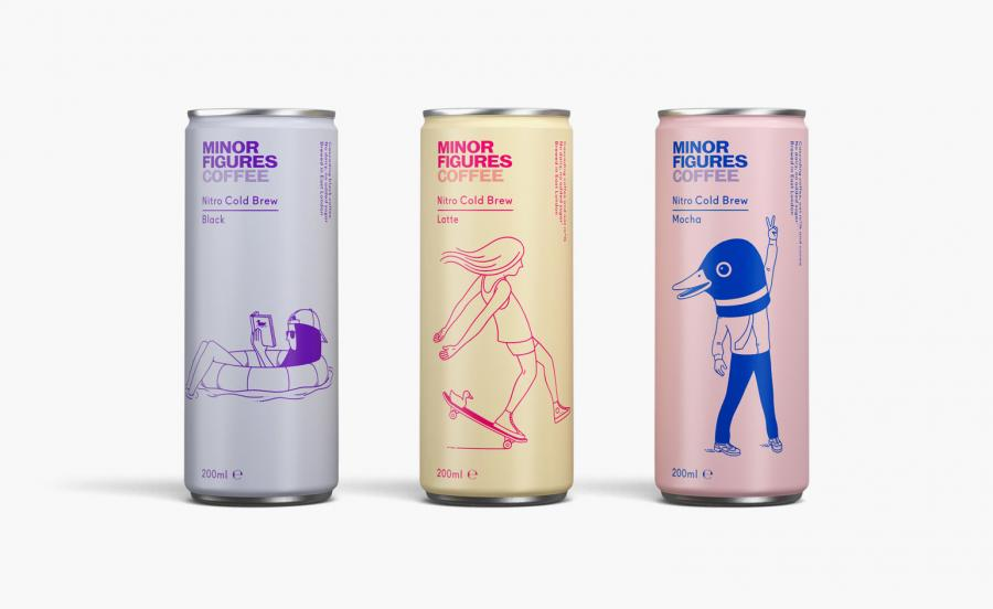 Three Minor Figures nitro cold brew coffee cans