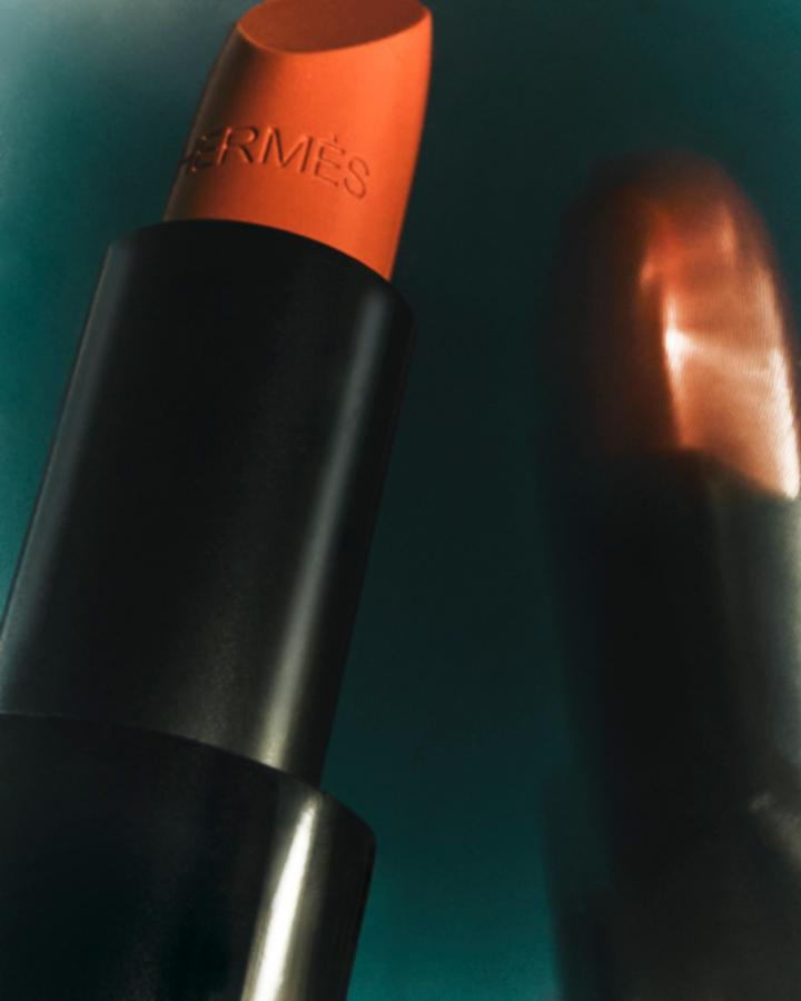 coral hermes lipstick