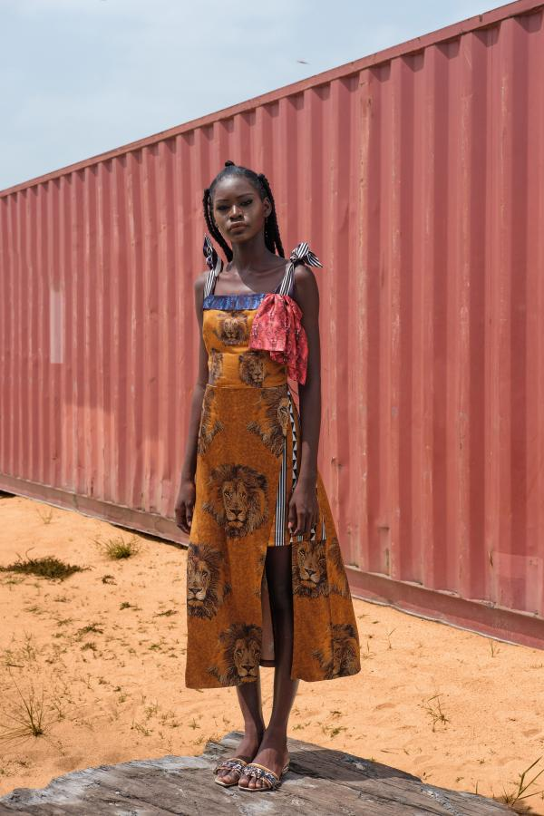 Spring/Summer 2018 collection, by Lisa Folawiyo
