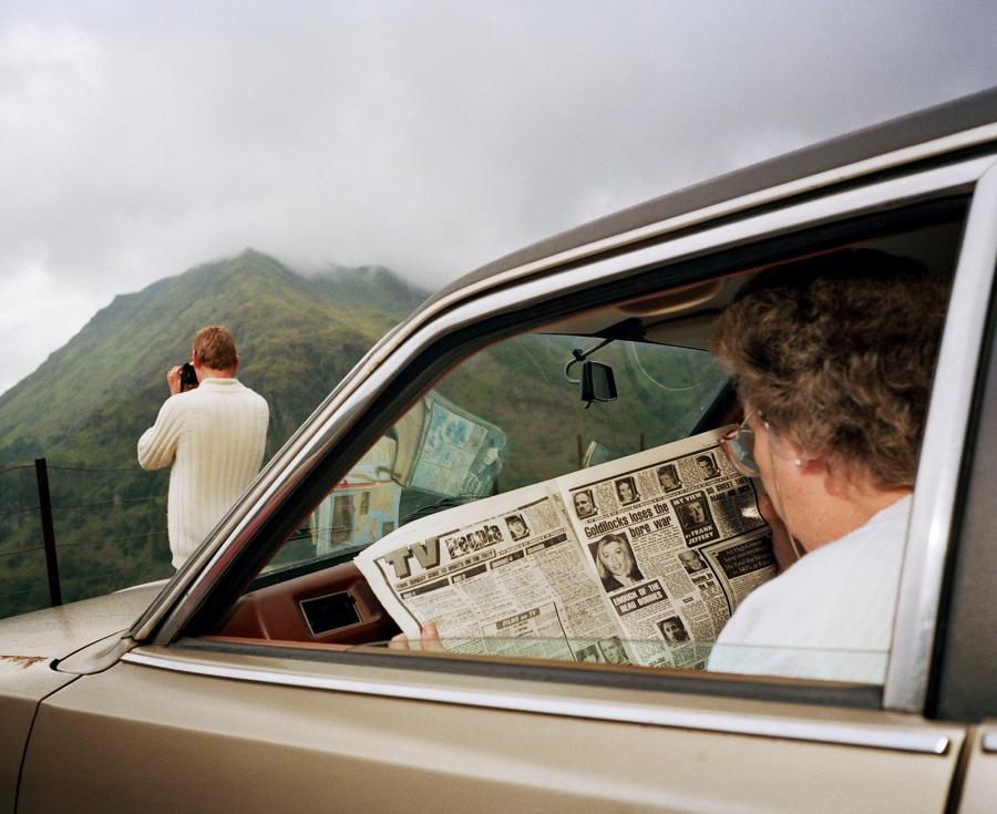 Snowdonia, Wales, 1989, by Martin Parr