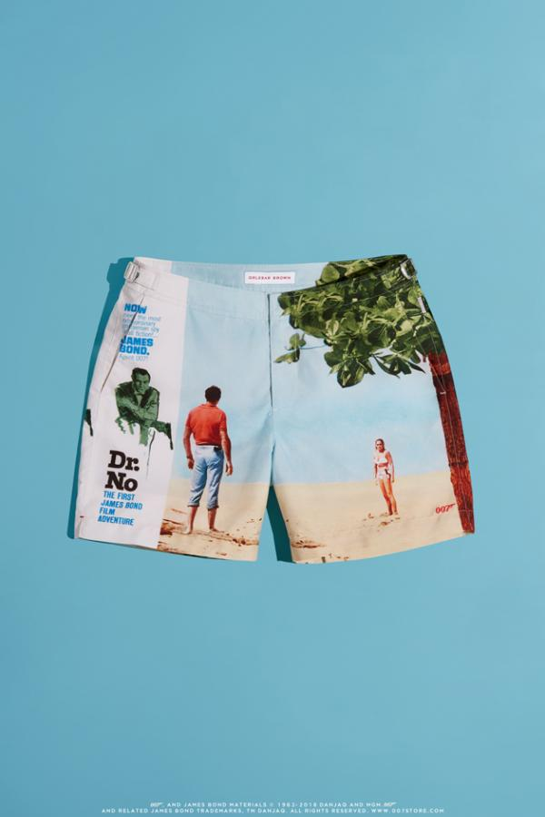Orlebar Brown James Bond inspired shorts