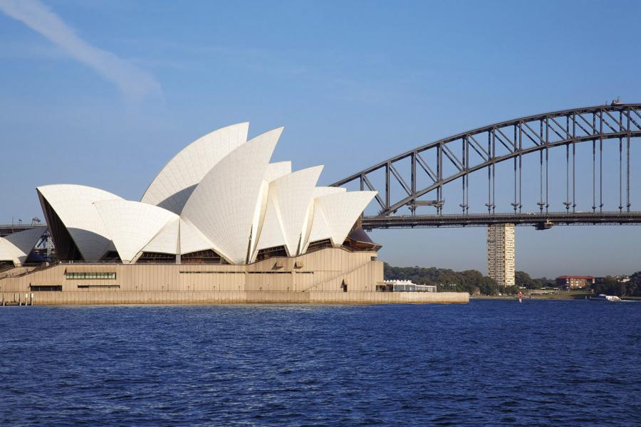 Sydney Opera House by Danish architect Jørn Utzon