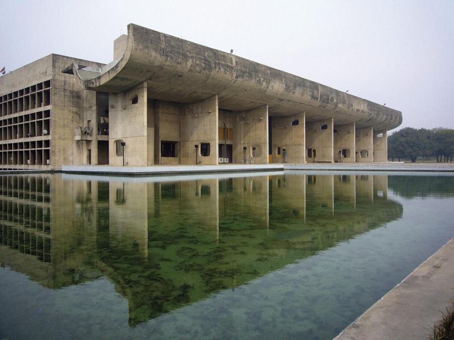 Le Corbusier's Chandigarh in India