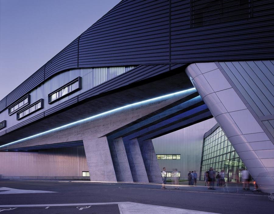 Zaha Hadid's BMW Central Building, Leipzig, Germany