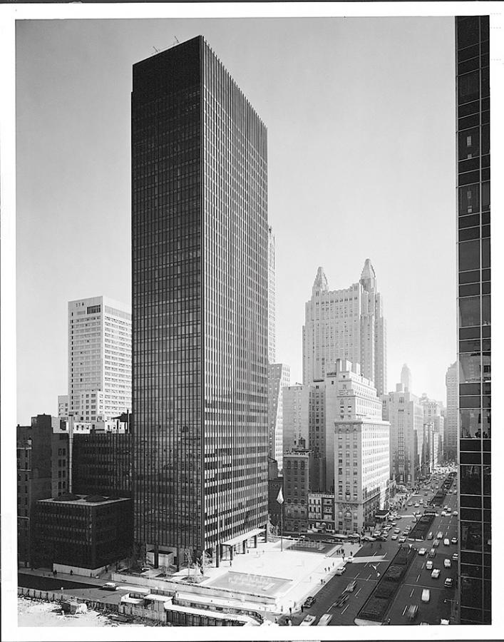 Seagram Building my Mies van der Rohe, New York