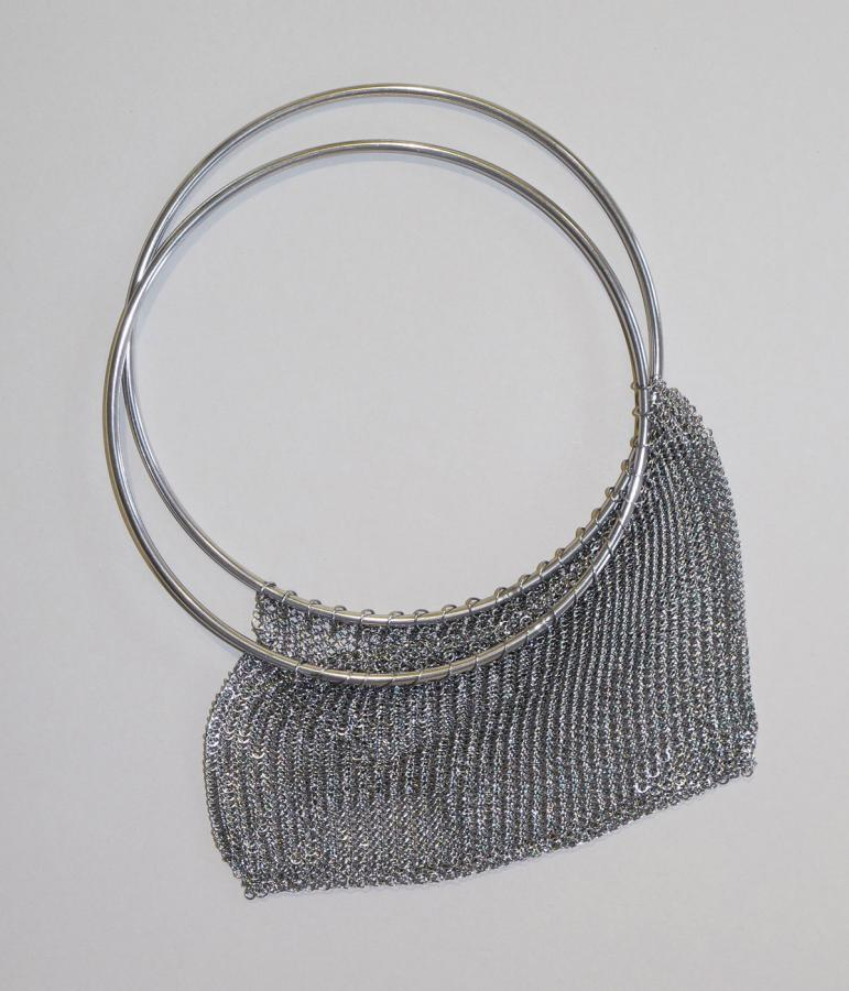 Saskia Diez chainmail bag stainless steel