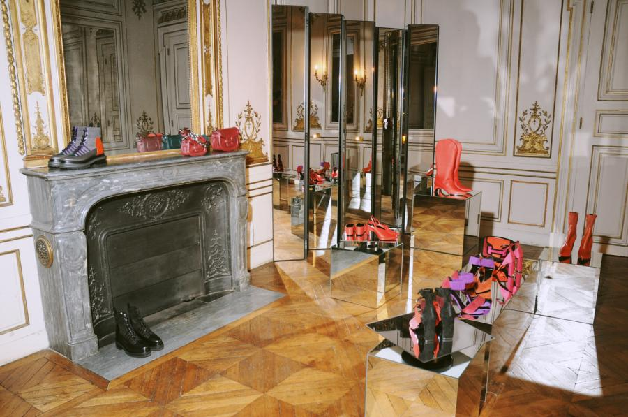 Pierre Hardy: features a Parisian apartments surrounded by shoes