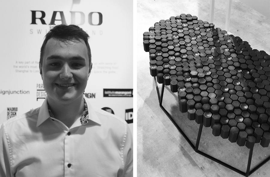 David Knowles winner at  2018 UK Rado Star Prize