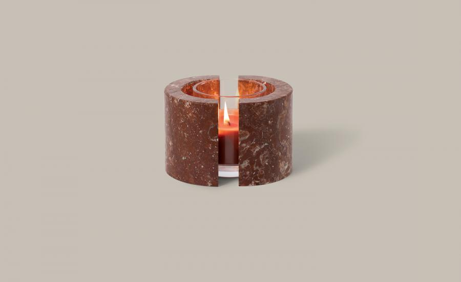 Stratosphere candle, by Addition Studio
