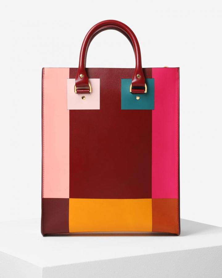 Sophie Hulme colour blocked bag