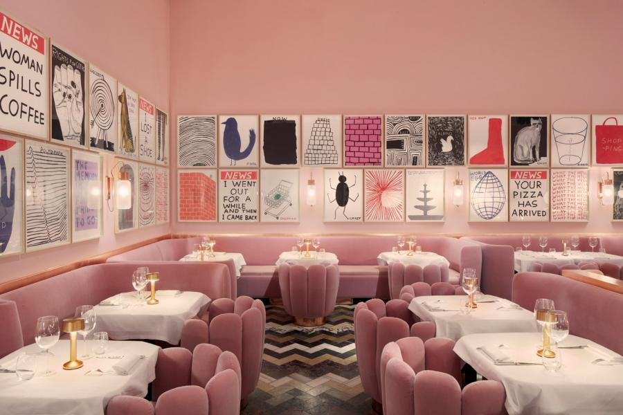 David Shrigley Sketch restaurant