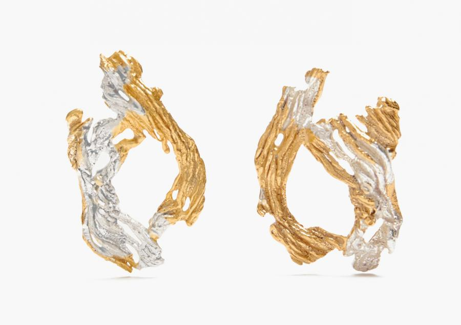 Loveness Lee hoop earrings