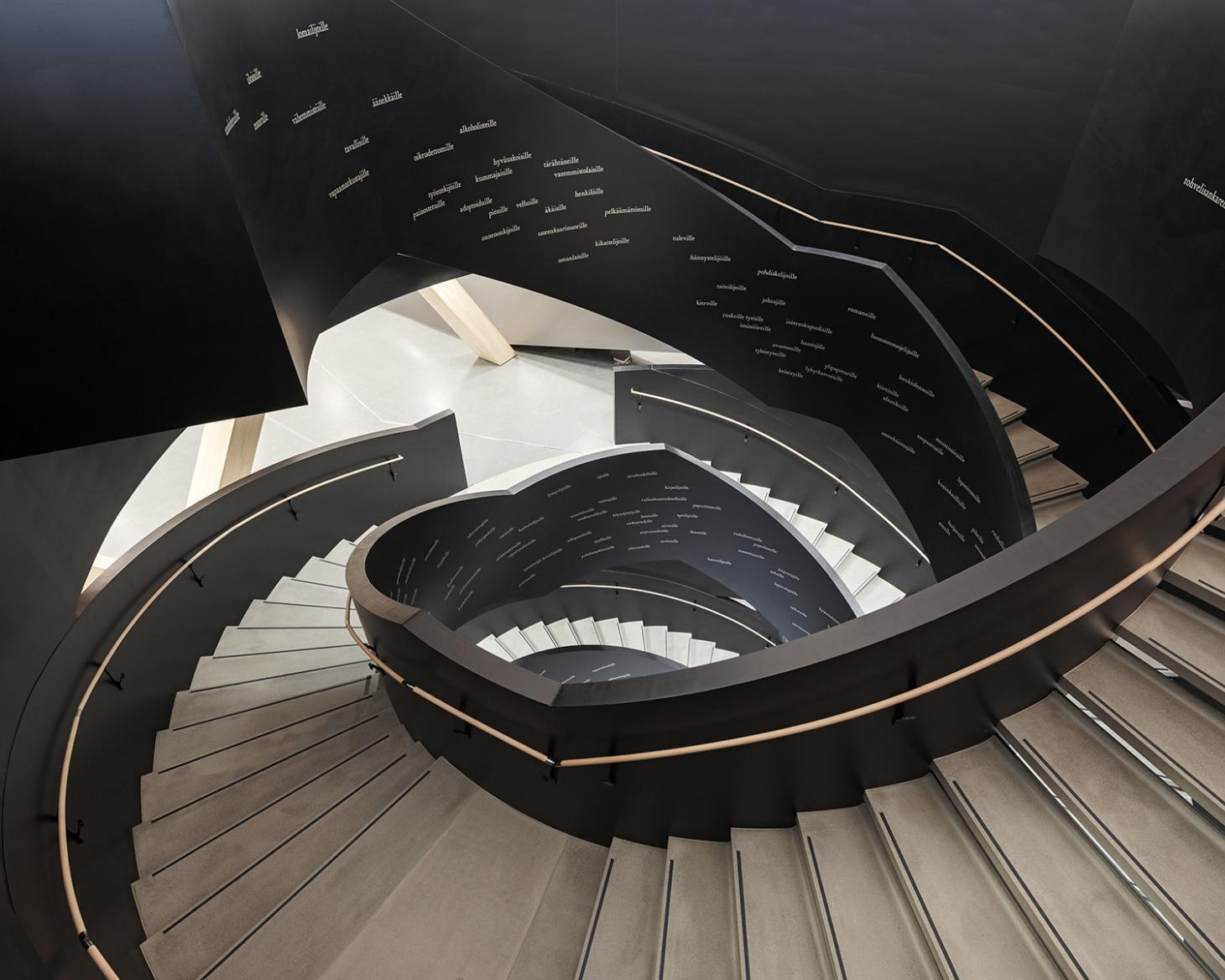 Oodi library staircase