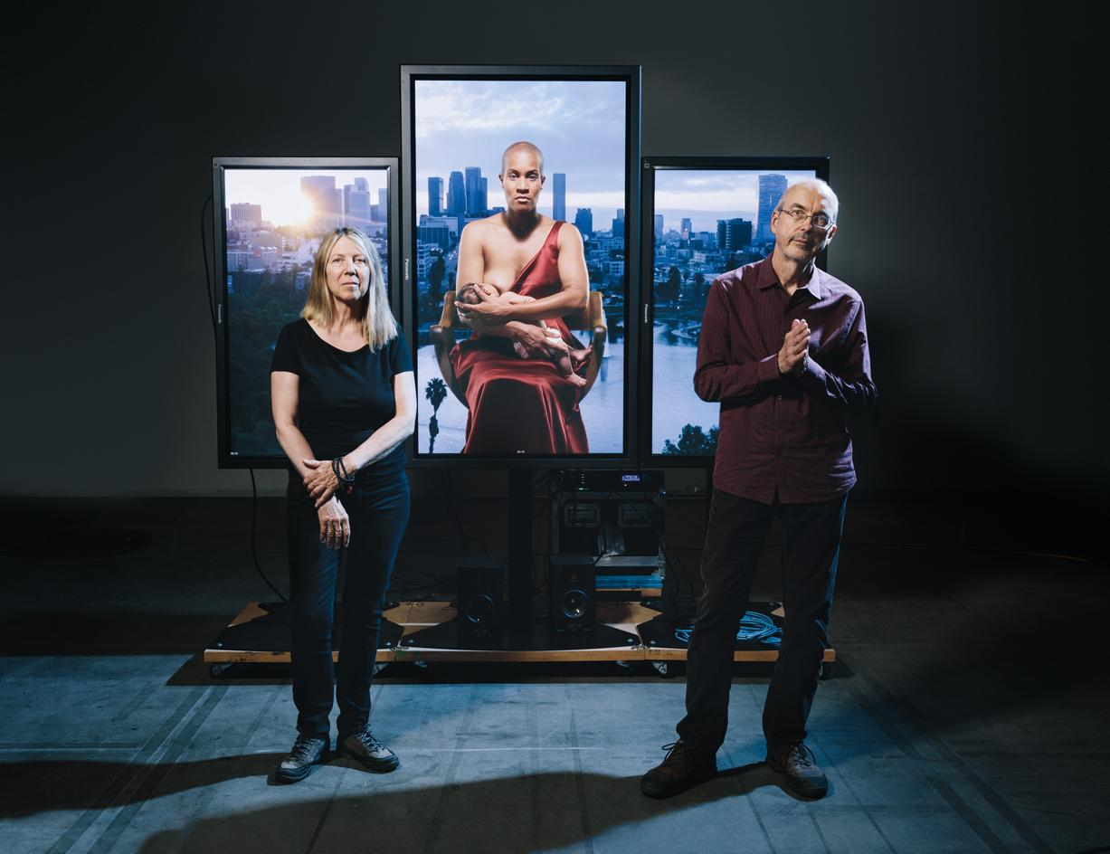 Hail Mary: artist Bill Viola unveils his new video installation for St Paul's Cathedral, London