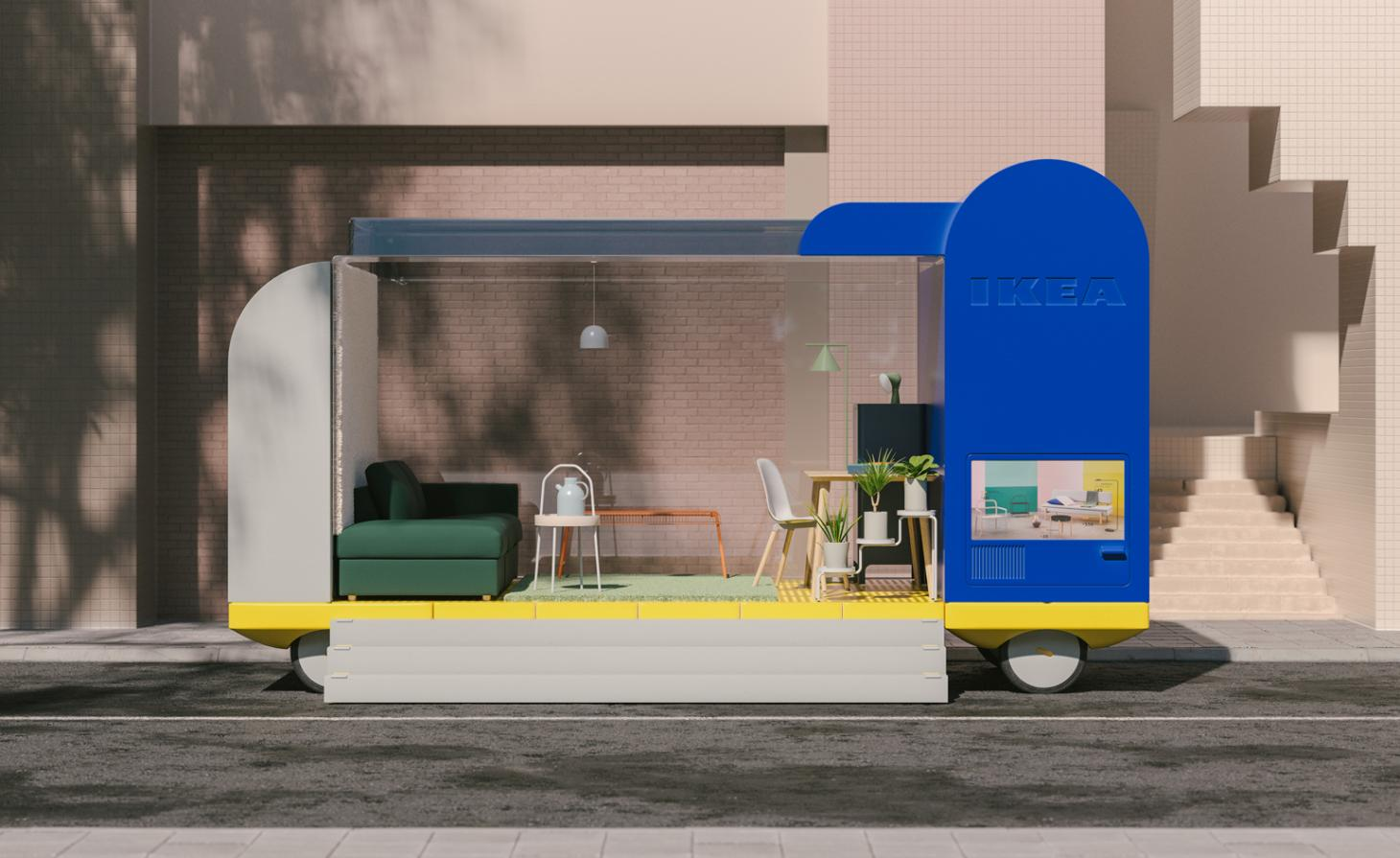 Shop, by Space10, Spaces on Wheels project