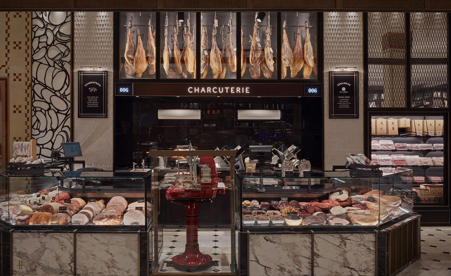 Charcuterie, at Harrods London