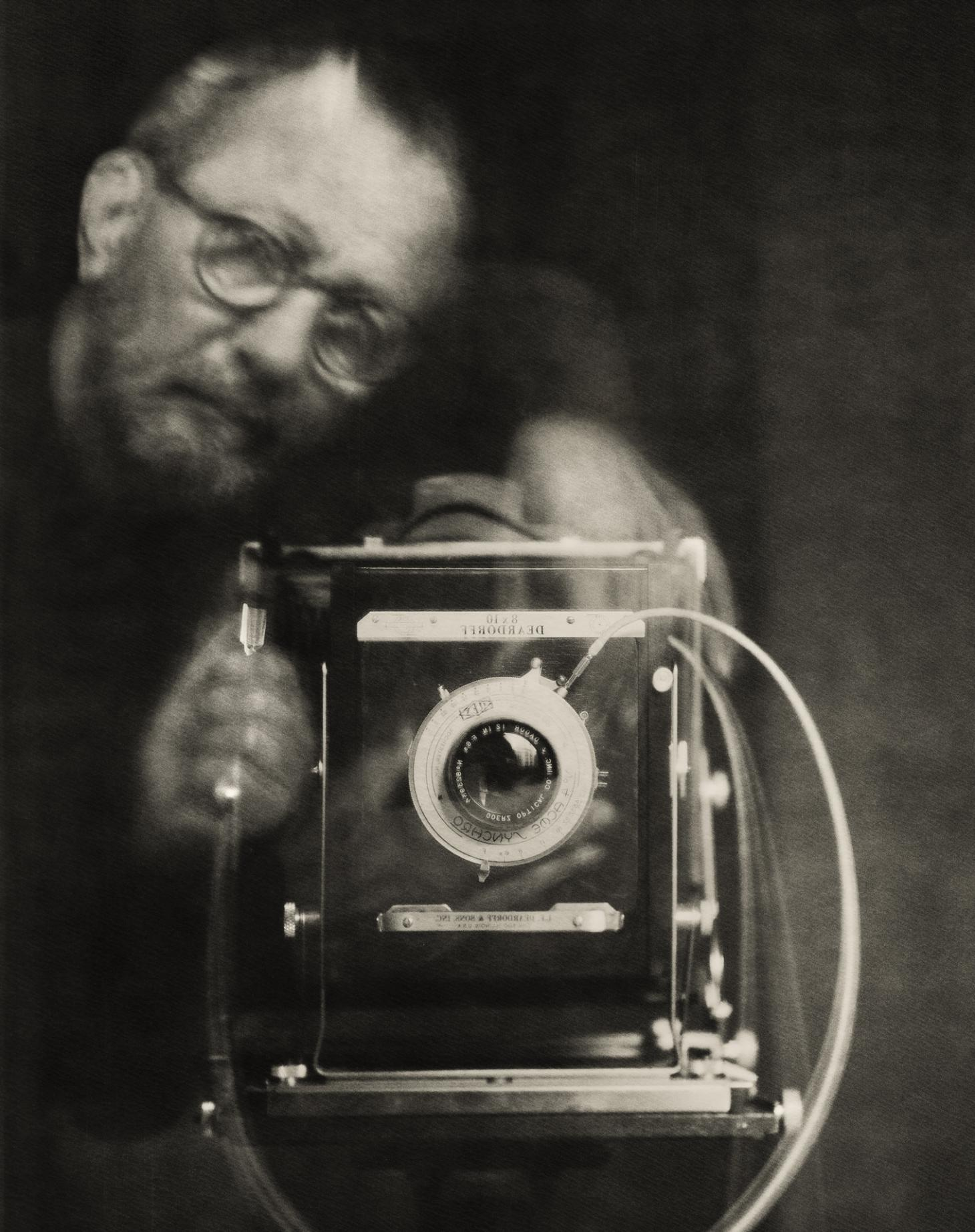 A self portrait of Paolo Roversi
