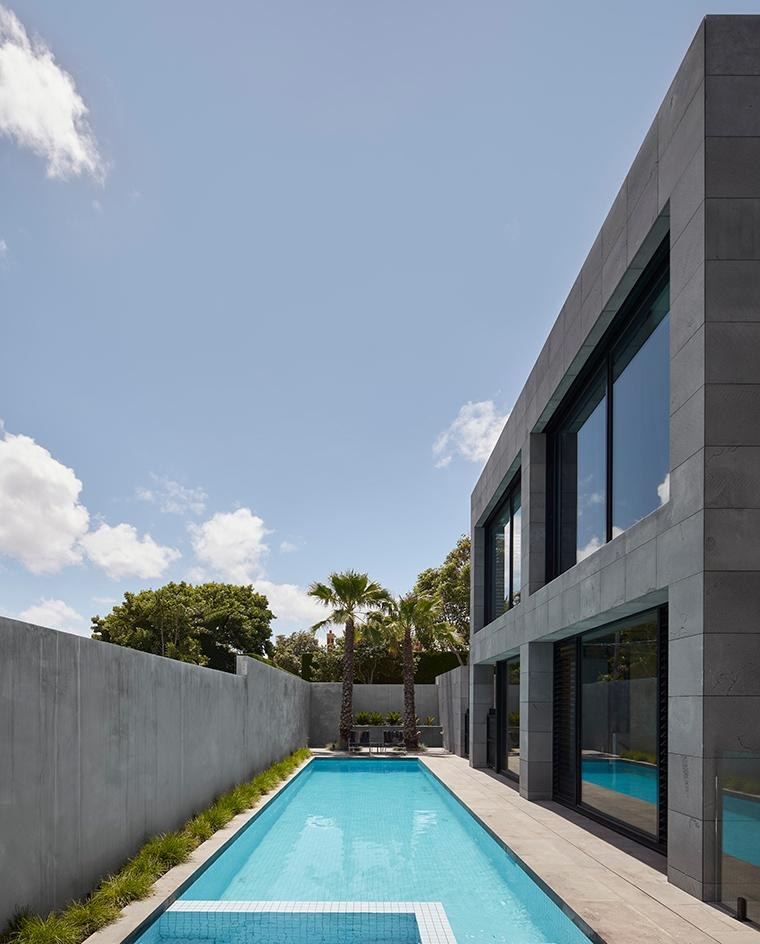 Quarry house designed by Finnis Architects