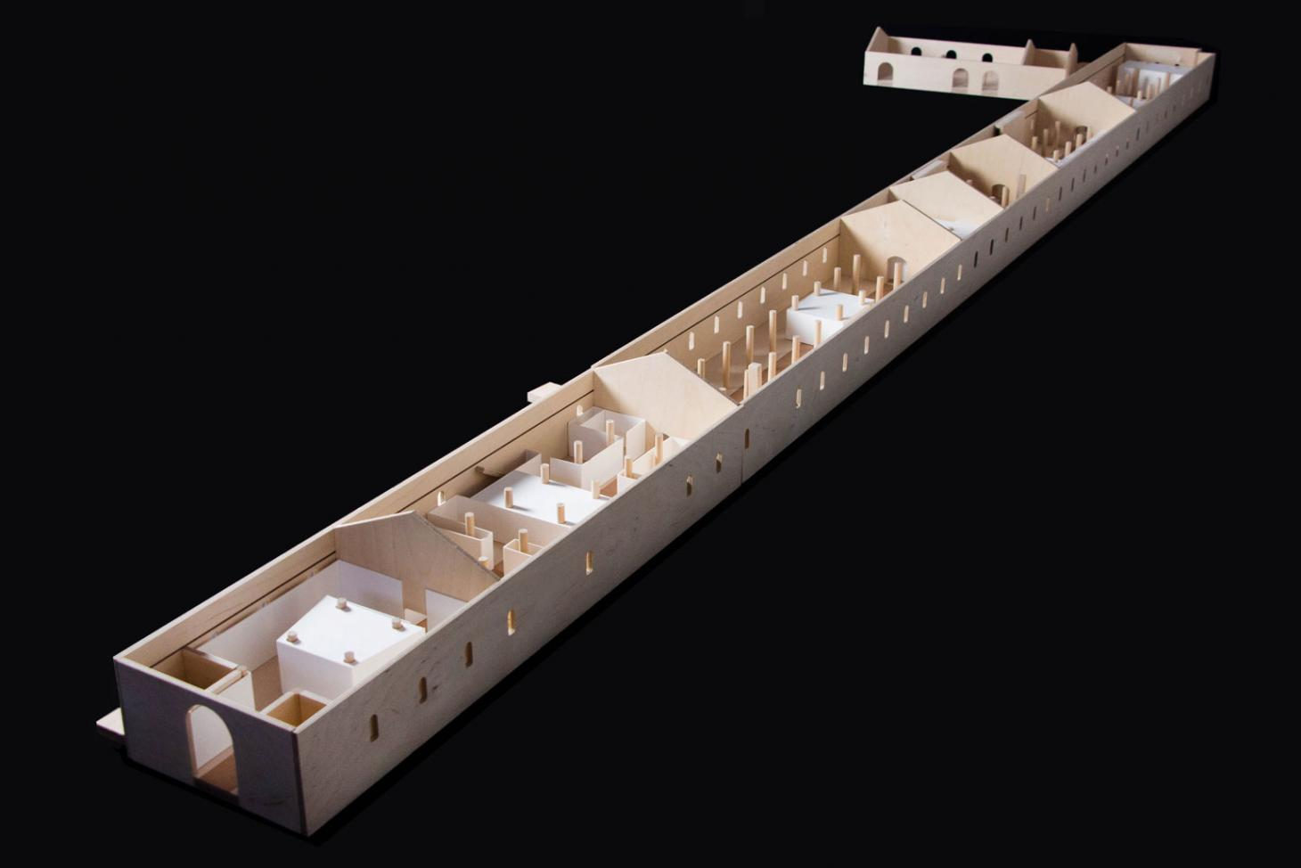 Duality shapes Delvendahl Martin Architects' exhibition design in Venice