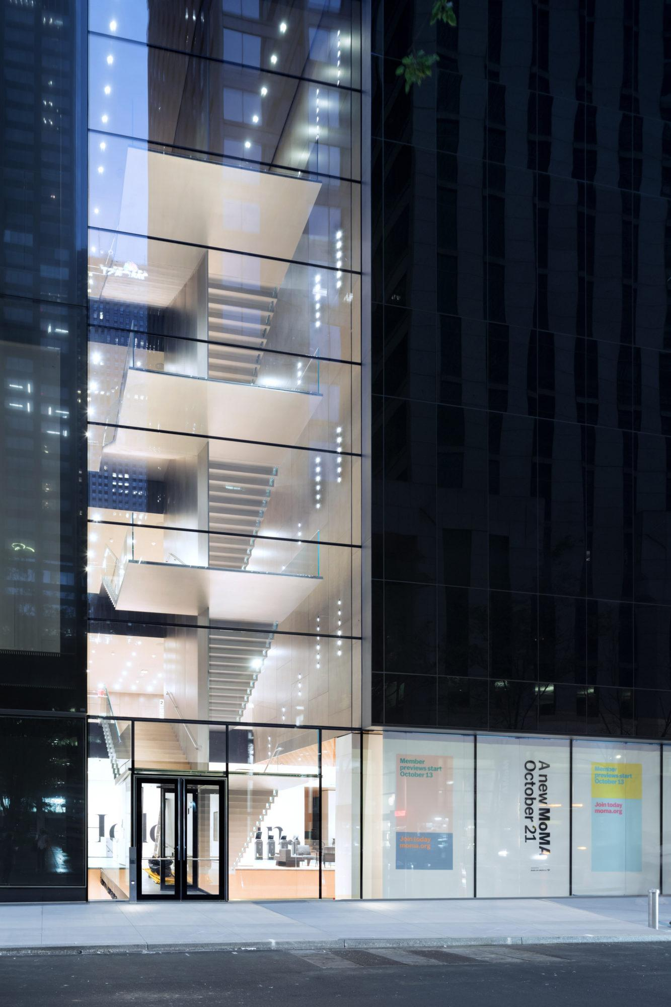 The Museum of Modern Art renovation and expansion project exterior