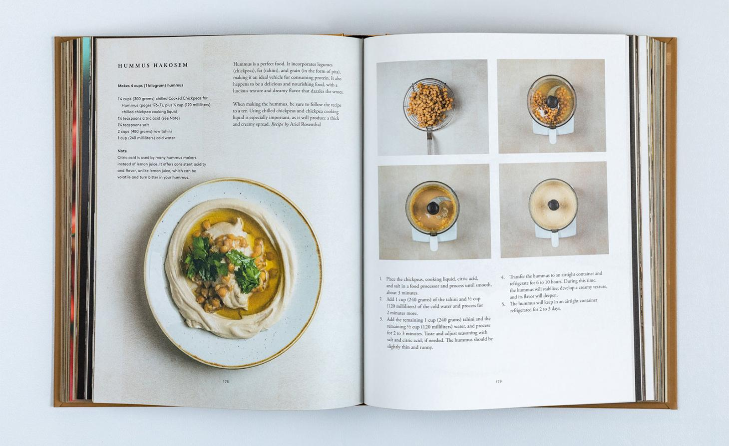 On the Hummus Route, spread with photography by Yaron Brener