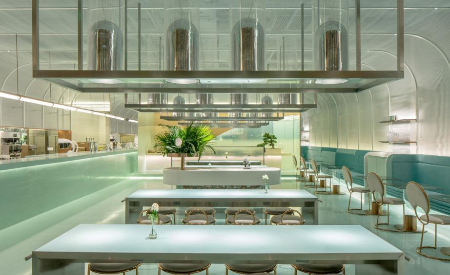 Studio MVW designs QingShan dessert bar in Beijing