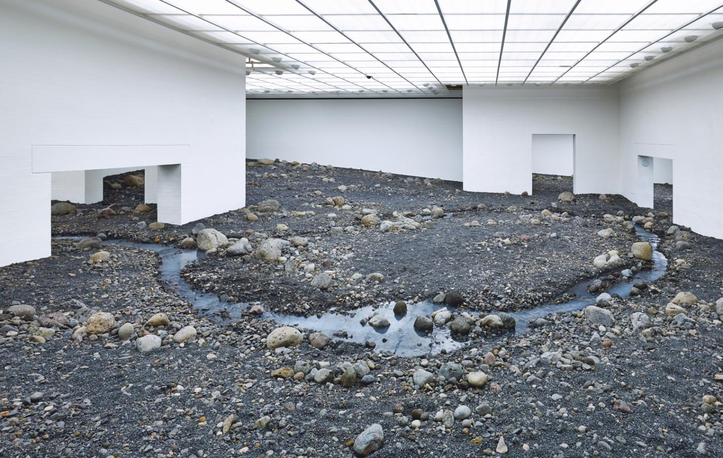 Olafur Eliasson as seen in the gallery, studio and real world