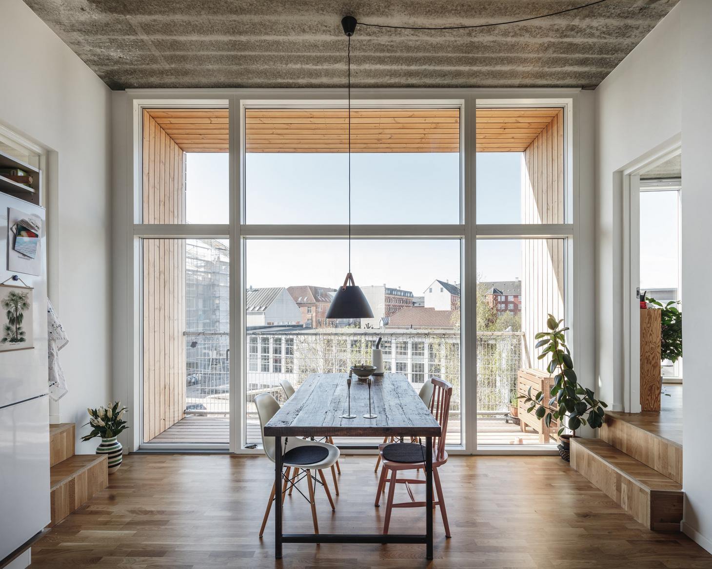 BIG interior in Copenhagen housing project