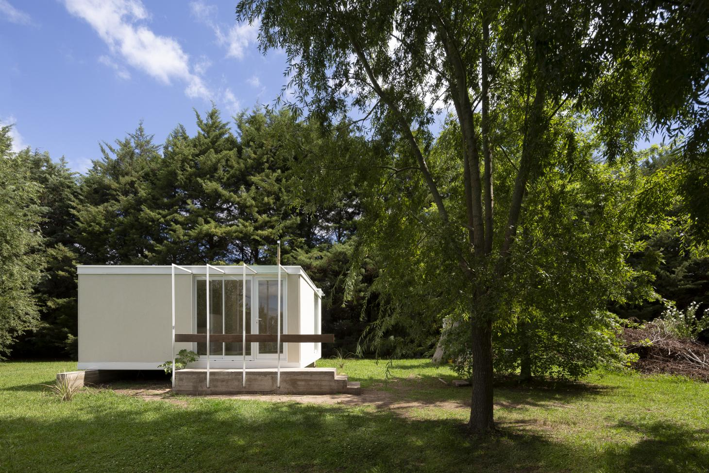 the Refugio cabin by architects colle croce