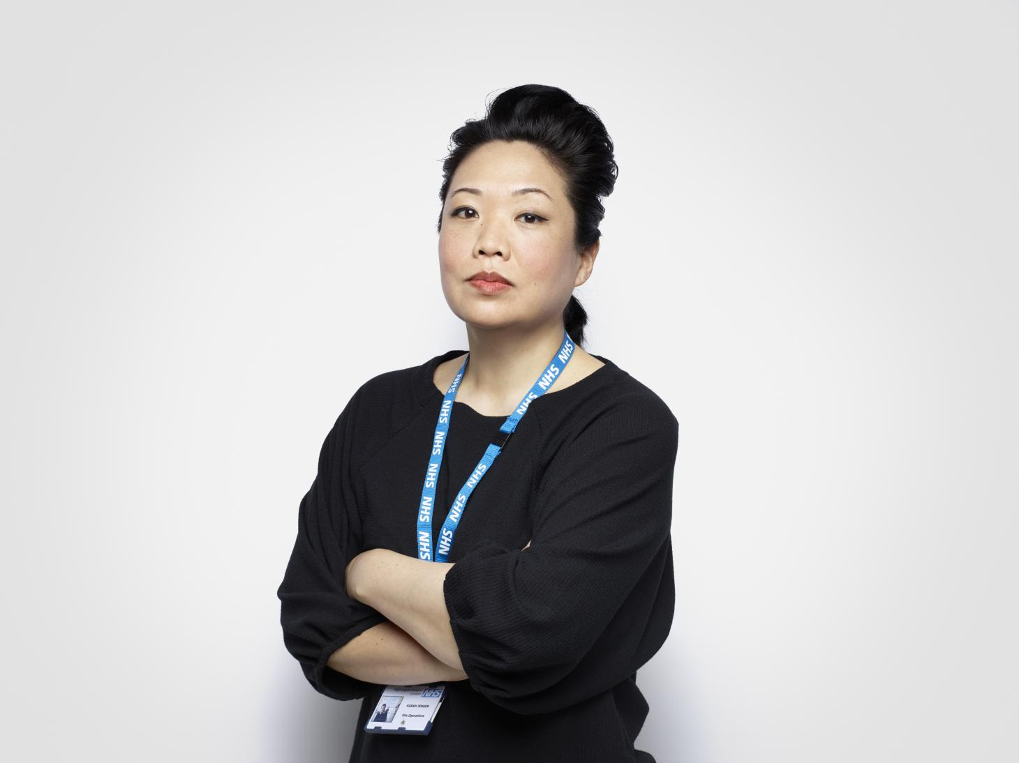 Sarah Jensen NHS frontline hero photographed by Rankin