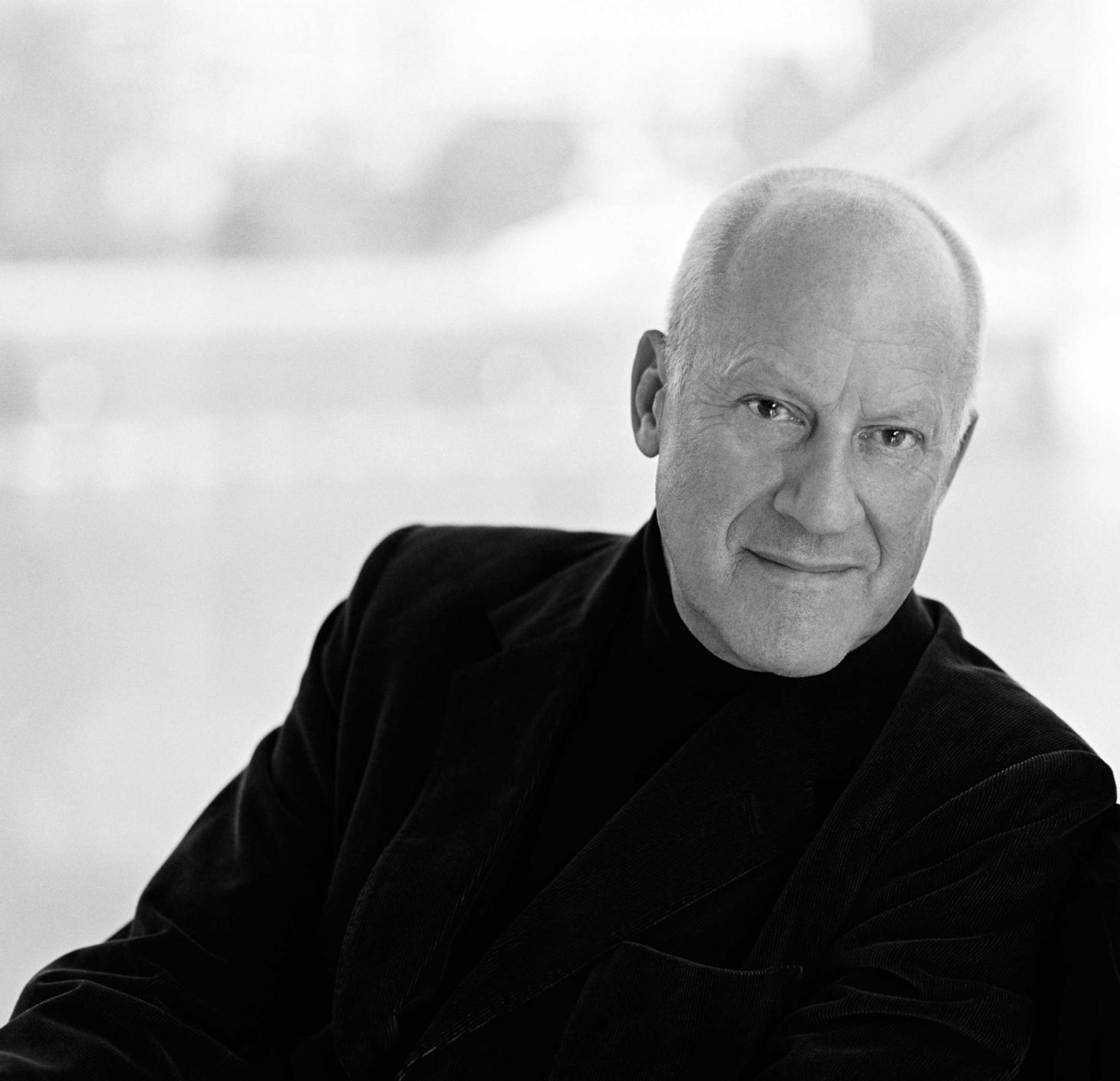 A portrait of Norman Foster