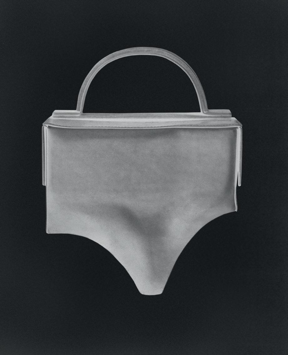 A breif pant inspired bag