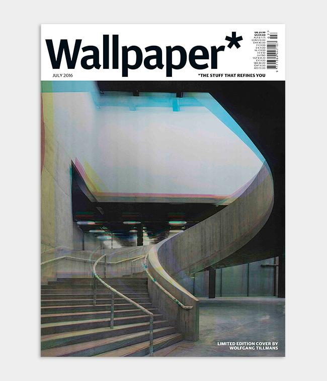 Photographer Wolfgang Tillmans photograph of Tate Modern for Wallpaper* Magazine cover design for July 2016 issue