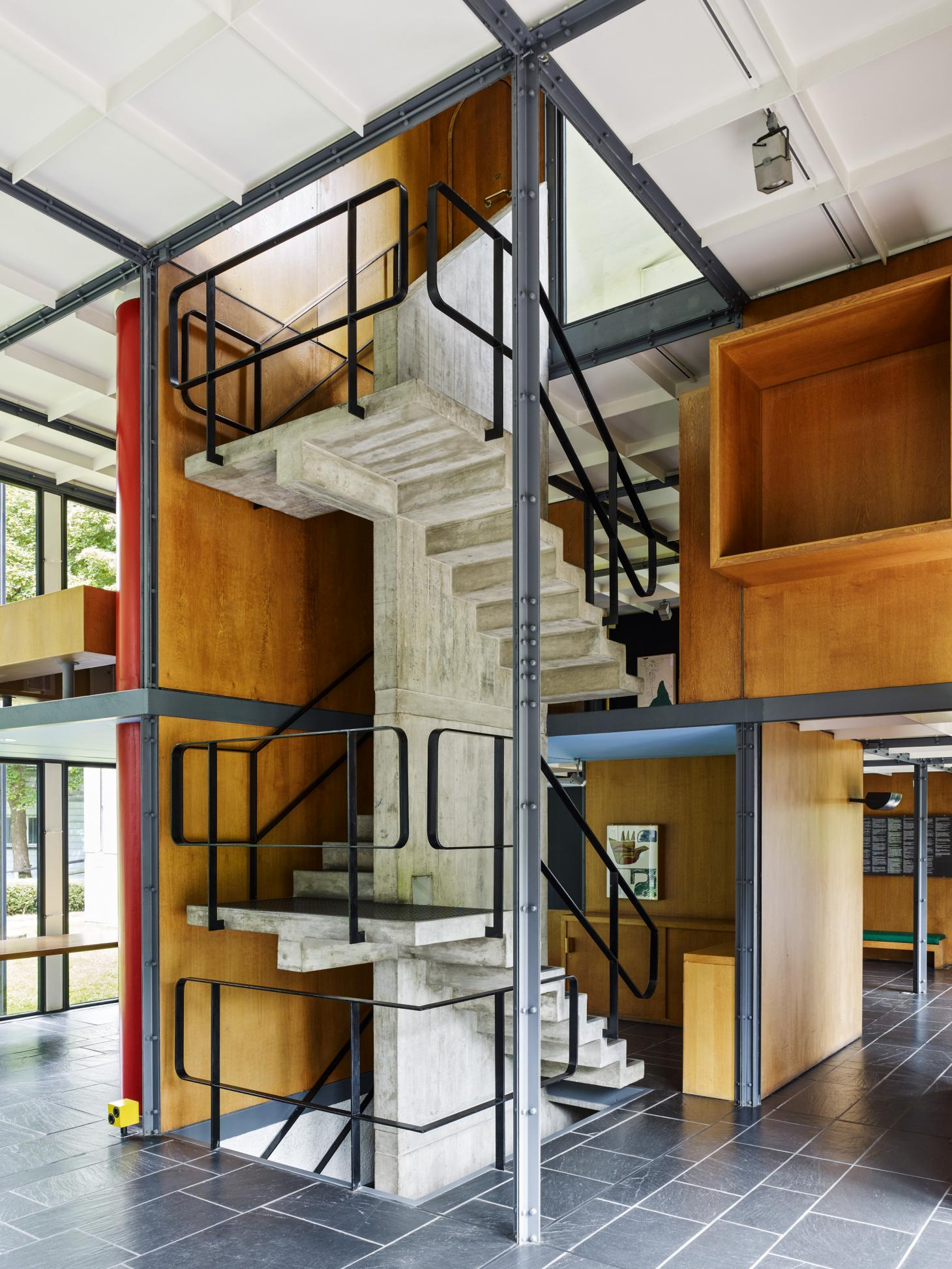 Pavilion Le Corbusier reopens after renovation in Zurich ...
