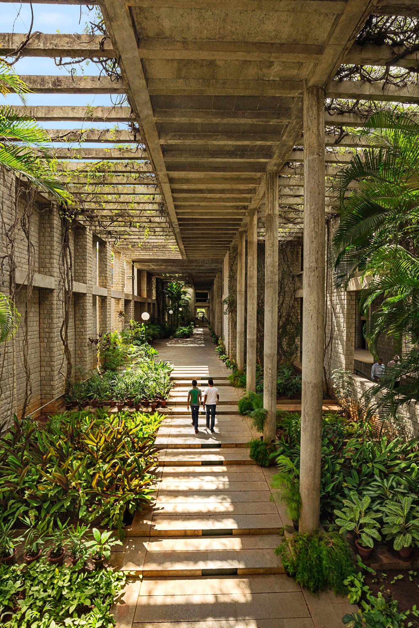 Indian Institute of Management courtyard