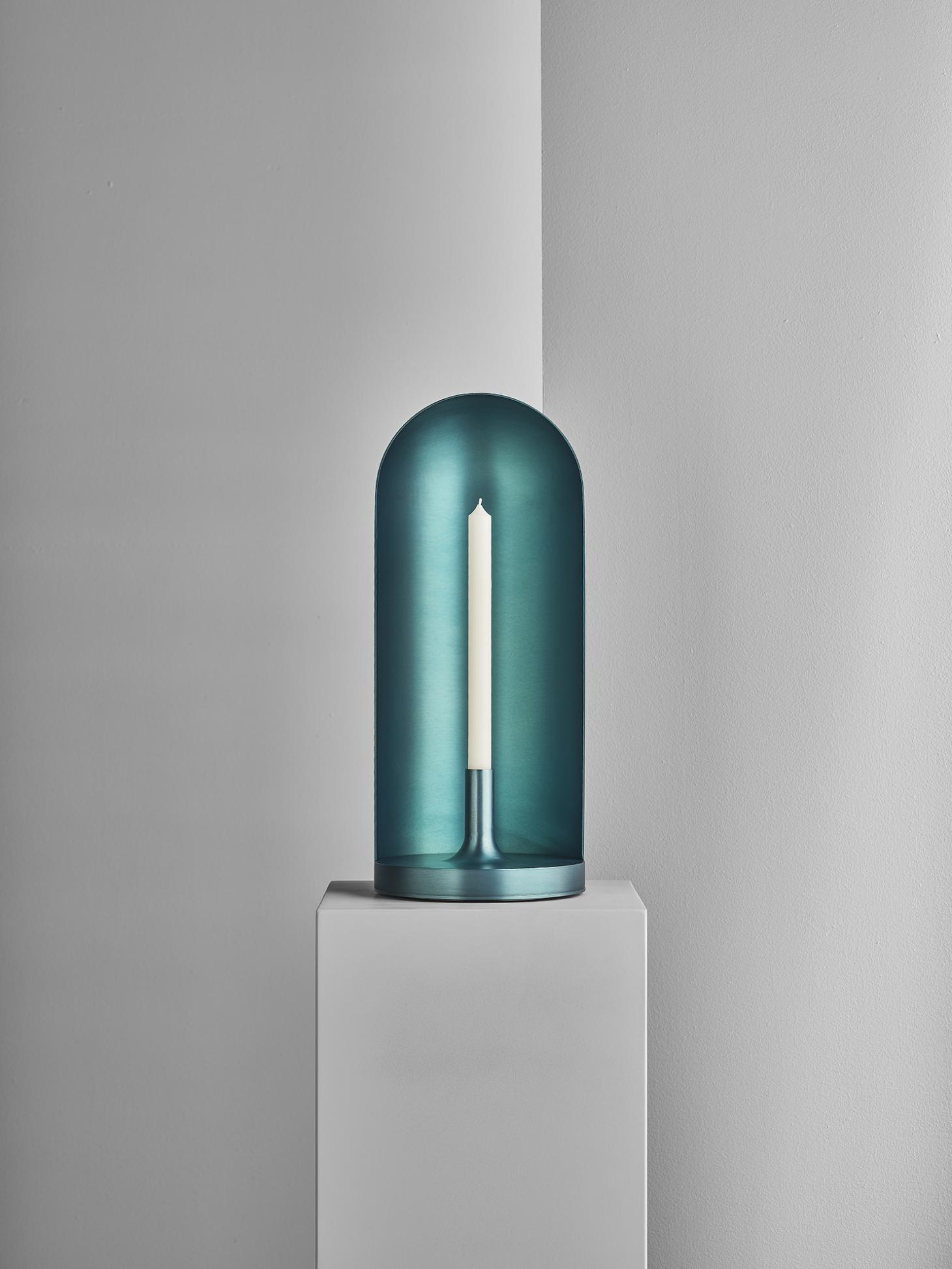 Blue Candleholder by Luca Nichetto